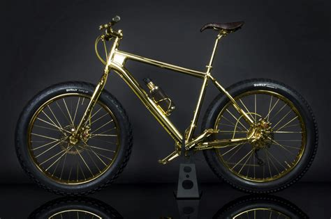 gold motorcycle the gold bike the worlds first 24k gold plated quot fat tire