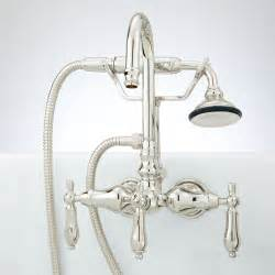 Tub Faucets With Sprayer by Signature Hardware Pasaia Tub Wall Mount Faucet With