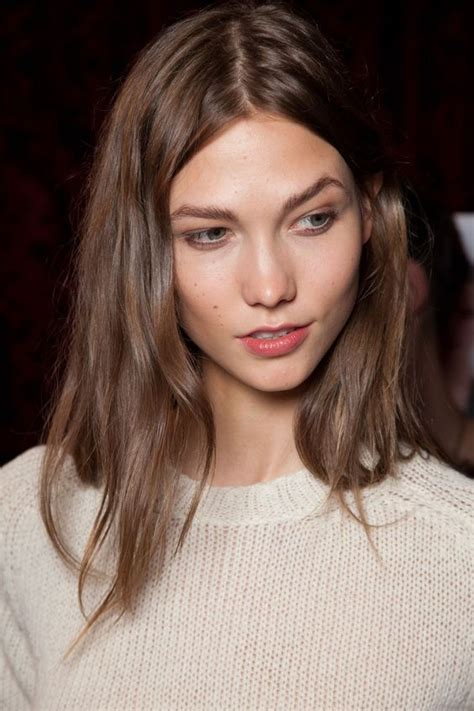 karlie kloss hair color eyebrow envy 19 famous brows you ll want to copy