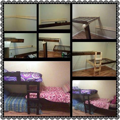 diy bunk bed ladder diy bunk beds las nubes pinterest the cottage