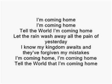 i m coming home p diddy with lyrics
