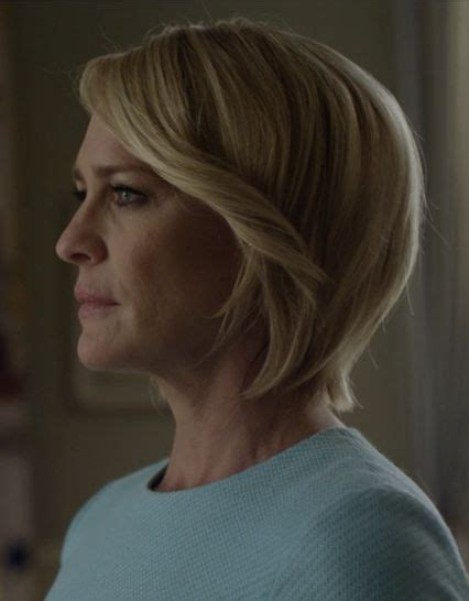 pics of robin wright haircut in house of cards de 25 bedste id 233 er inden for robin wright hair p 229