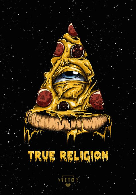 illuminati religion true religion pizza illuminati on behance nyp ideas