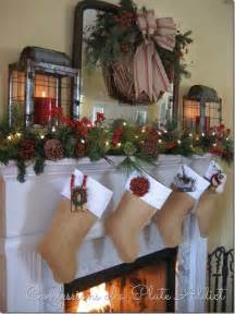 10 ways to decorate a mantel for christmas
