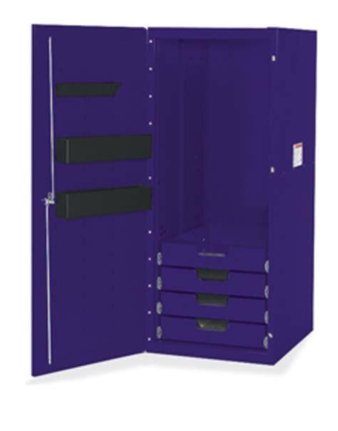 Purple Locker Shelf by Locker 4 Drawers 3 Shelves Purple