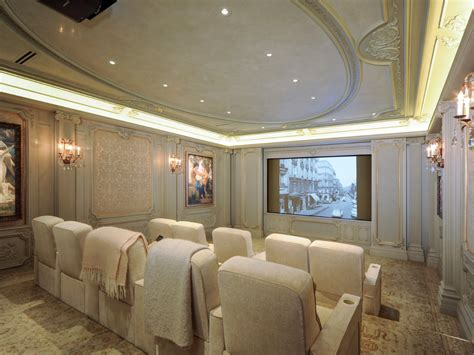 home theater design houston tx neoclassical chateau style estate in texas idesignarch