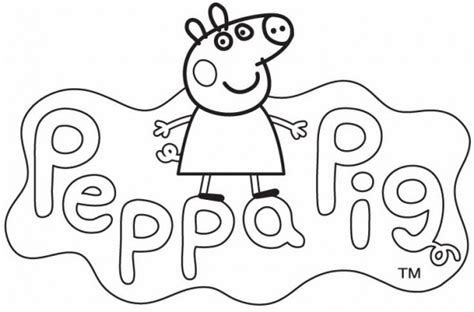 imagenes para pintar de peppa pig divertidos dibujos de peppa pig para imprimir y colorear