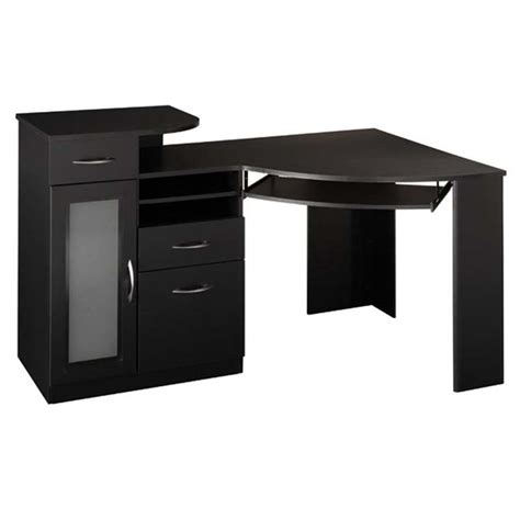 Object Moved Corner Desk Black