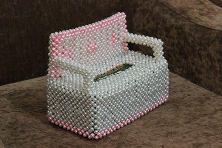 beaded tissue box covers indusladies