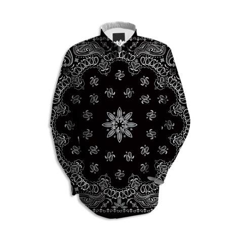 paisley pattern hoodies shop evil robot hustler original gangster black wall