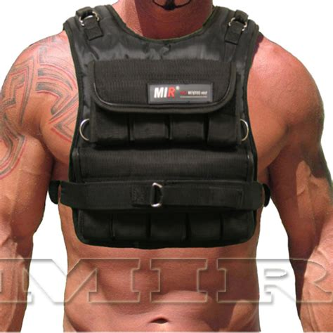 weight vest mir weighted vest mir narrow 30lbs weighted vest