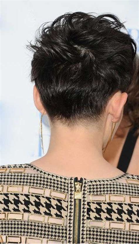 back view of short pixie hairstyles pixie haircut back view short hairstyles haircuts 2017