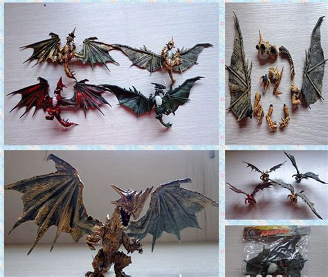 1pcs diy dragons education with wings classic toys for children gifts dinosaur