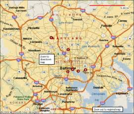 us map with baltimore baltimore map travel map vacations travelsfinders