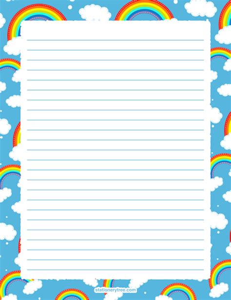 rainbow writing paper rainbow writing paper reportz725 web fc2
