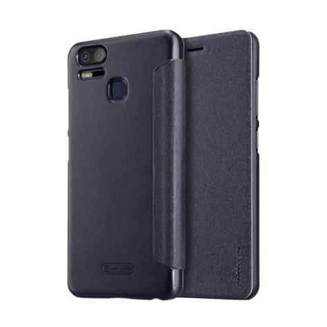 Handphone Asus Zenfone 3 Zoom jual nillkin sparkle flip cover casing for asus zenfone zoom s or 3 zoom black harga