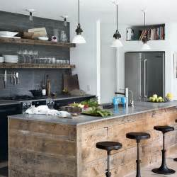 Country Kitchen Theme Ideas Industrial Style Interiors