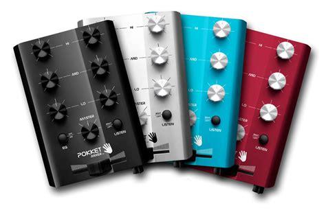 console mixer dj pokket mixer portable dj console