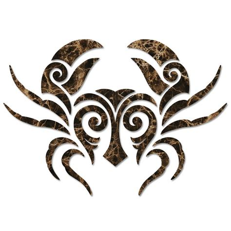 tribal crab tattoo best 25 crab ideas on cancer crab