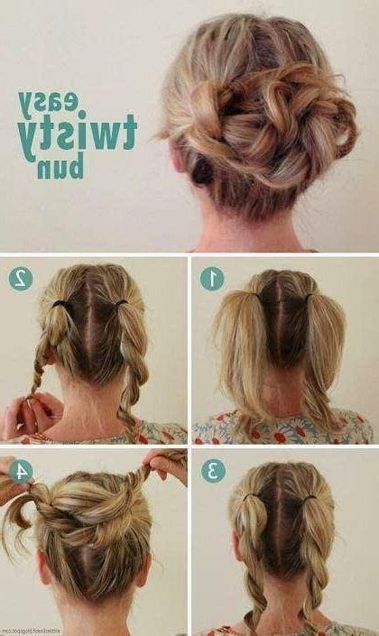 photo  quick  easy updos  long thin hair hair