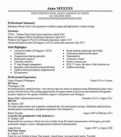 Er Resume