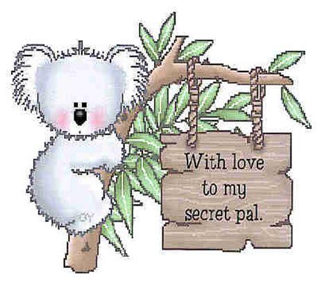 for secret pal secret pal cards