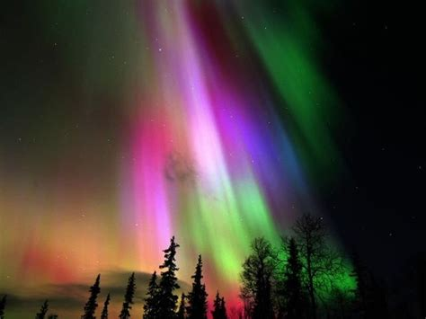 finland nature lights