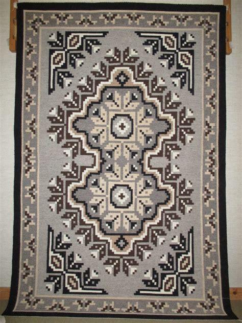 two grey rugs for sale ru2992 two grey rug weaving by navajo weaver darlene dean 9 400