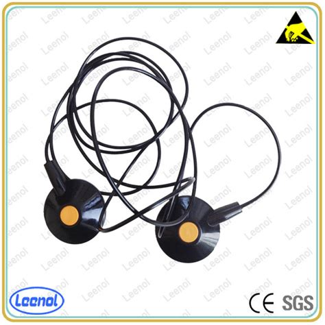 Esd Grounding Cord Mats Antistatic Ground Cord safety alligator clip esd cleanroom grounding cord ground