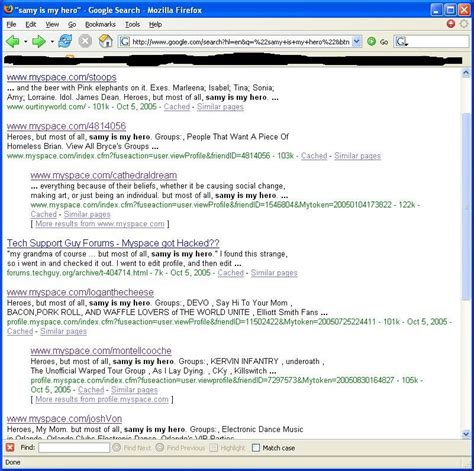 Find On Myspace New Hack For Myspace Free Software Trackertrail