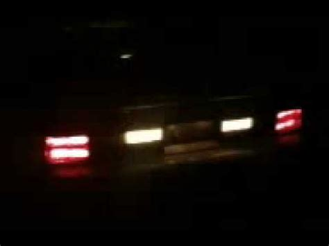 fox body led tail lights fox body mustang led conversion taillights youtube