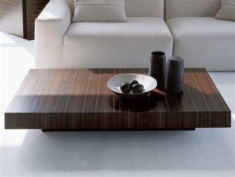 Nella Vetrina Dona Momo Modern Italian Designer Ebony Coffee Table