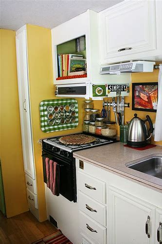 Camper Trailer Kitchen Ideas by Decorating Ideas For The Rv A Gallery On Flickr