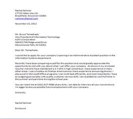 Cover Letter Closing by Cover Letter Elementary