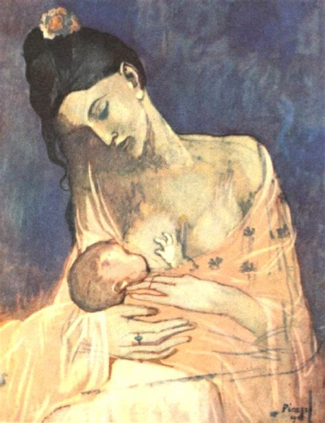 picasso paintings from childhood picasso mother and child 1905 nome muckin around