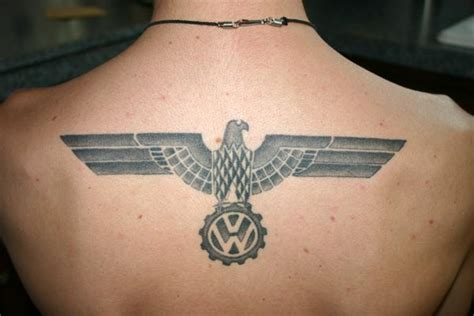 iron eagle tattoo picture request iron eagle vw logo w eagle