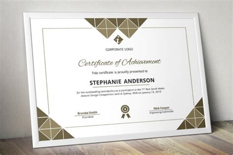corporate certificate template 51 word certificate templates free certificates