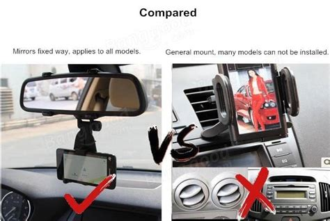 Sale Car Holder For Smartphone Ch310 3 5 5 5inchi universal car rear view mirror bracket mount holder for 4
