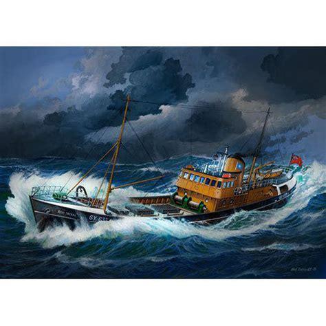 ebay model fishing boat kits uk revell 05204 northsea fishing trawler 1 142 ship model kit