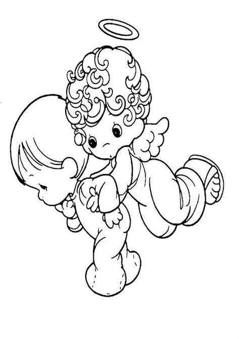 coloring pages kidsboys com 81 coloring pages of boy angels angel boy song