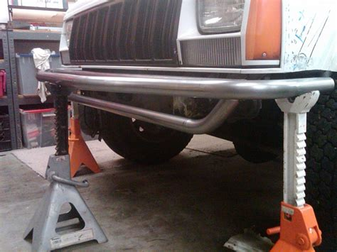homemade jeep rear bumper diy front rear tube bumpers jeep cherokee forum