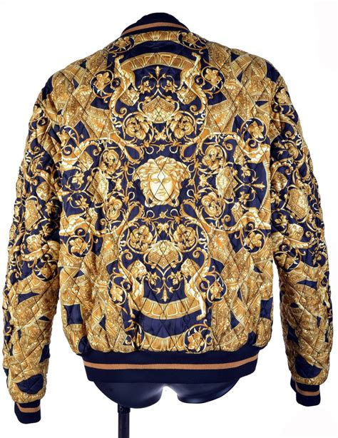 Styles Of Furniture For Home Interiors 35th anniversary versace quilted silk bomber jacket for