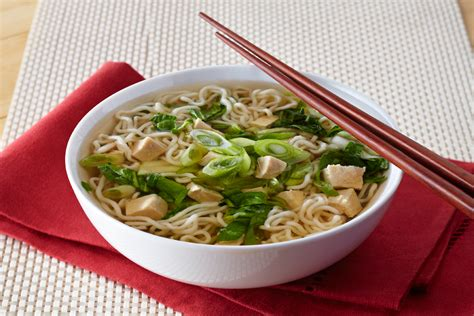 new year rice noodles new year noodle soup recipe dishmaps