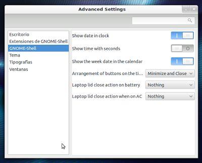 ocultar barra superior gnome personalizar y configurar gnome shell tu ubuntu