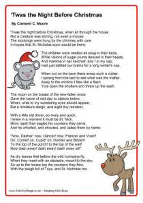 Ththe Poem The Night Before Christmas » Home Design 2017