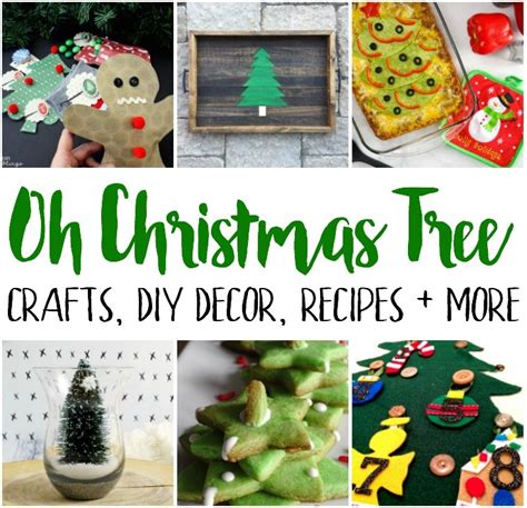 christmas tree crafts recipes and block party rae gun