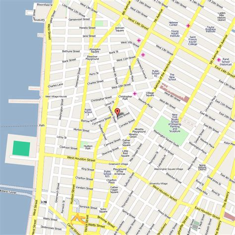map of streets new york map streets toursmaps