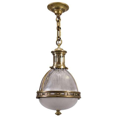 Bronze Holophane Pendant Light Circa 1900 At 1stdibs Holophane Pendant Light