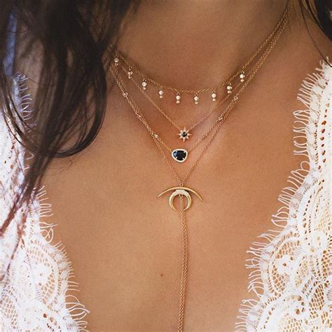 Layered Necklace layered necklaces layering