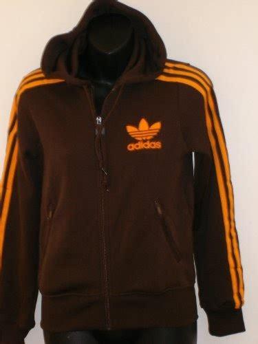 Pasangan Jaket Sweater Adidas Coklat Brown clothing adidas zipup sweatshirt hooded brown light orange